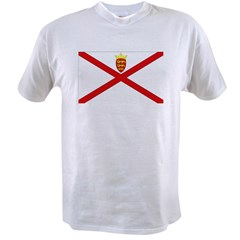Jersey Flag Ash Grey Value T-shirt
