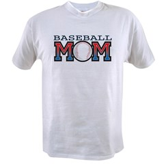 Baseball Mom Value T-shirt
