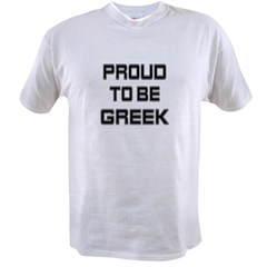 Proud to be Greek Value T-shirt