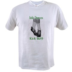 Irish Dancers Kick But Value T-shirt