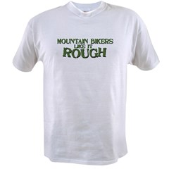 Mt. Bikers Like it Rough Ash Grey Value T-shirt