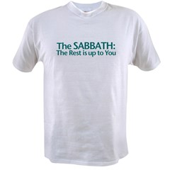 The SABBATH The Rest Is Up To You Ash Grey Value T-shirt