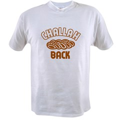Challah back! Ash Grey Value T-shirt