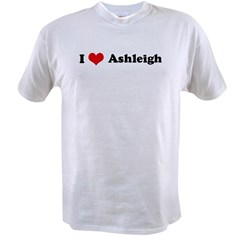 I Love Ashleigh Value T-shirt