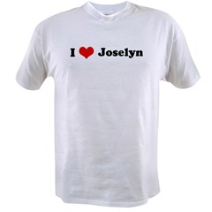 I Love Joselyn Value T-shirt