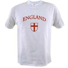 England Ash Grey Value T-shirt