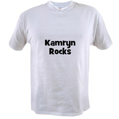 Kamryn Rocks Value T-shirt