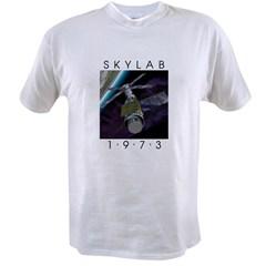 Shrox Space Art Skylab Value T-shirt