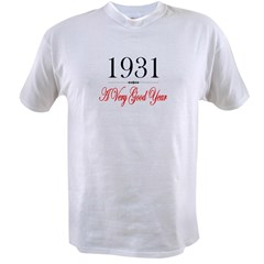 1931 Ash Grey Value T-shirt