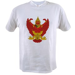 Thailand Emblem Ash Grey Value T-shirt