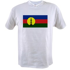 Flag New Caledonia Value T-shirt