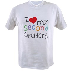 I Love My 2nd Graders Value T-shirt