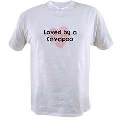 Loved by a Cavapoo Value T-shirt