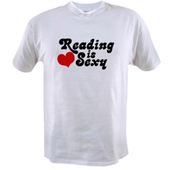 Reading is sexy Value T-shirt