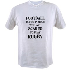 Rugby vs. Football 2 Value T-shirt