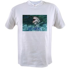 dolphin-keep smiling.jpg Value T-shirt