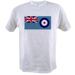 UK's RAF Flag Shoppe Ash Grey Value T-shirt
