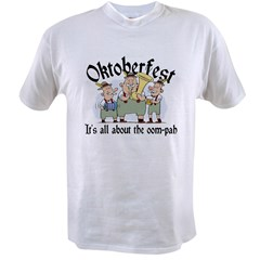 Funny Oktoberfest Ash Grey Value T-shirt
