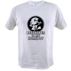Beethoven is my Homeboy Value T-shirt