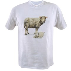 Sheep and Lam Value T-shirt