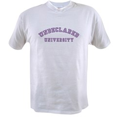 Undeclared University Value T-shirt