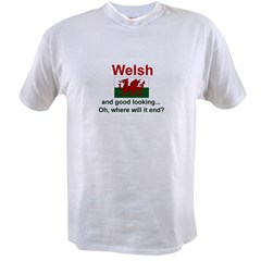 Good Looking Welsh Value T-shirt