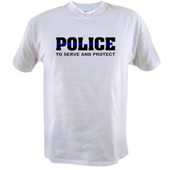 policesmall1 Value T-shirt