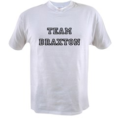 TEAM BRAXTON T-SHIRTS Ash Grey Value T-shirt