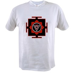 Goddess Kali Yantra Value T-shirt