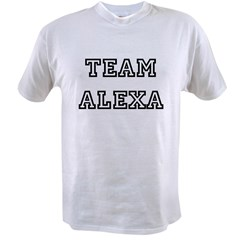 TEAM ALEXA Ash Grey Value T-shirt