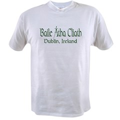 Dublin, Ireland (Gaelic) Value T-shirt