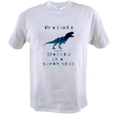 I'm a T-Rex Ash Grey Value T-shirt
