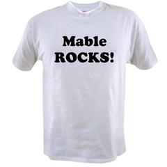 Mable Rocks! Value T-shirt