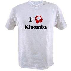 Kizomba music Ash Grey Value T-shirt