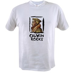 Calvin Rocks Value T-shirt