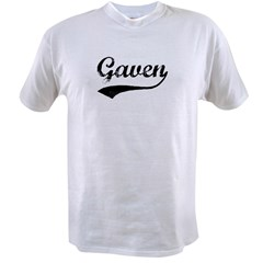Vintage: Gaven Value T-shirt