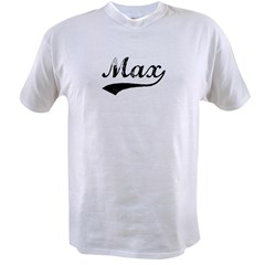 Vintage: Max Ash Grey Value T-shirt