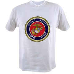 Marine Emblem Value T-shirt