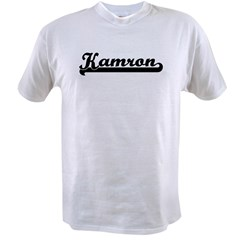 Black jersey: Kamron Ash Grey Value T-shirt