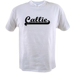 Black jersey: Callie Ash Grey Value T-shirt