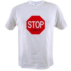 Stop Landyn Ash Grey Value T-shirt