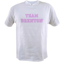 Pink team Brenton Ash Grey Value T-shirt