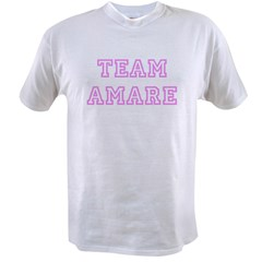 Pink team Amare Value T-shirt
