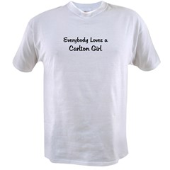 Carlton Girl Ash Grey Value T-shirt