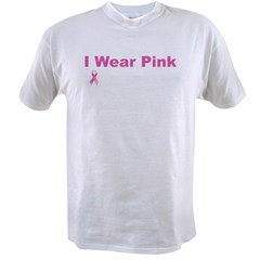iwearpinkformywifeblack Value T-shirt