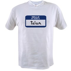Hello: Talan Ash Grey Value T-shirt
