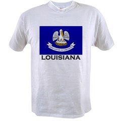 Louisiana Flag Stuff Value T-shirt