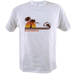 California Ash Grey Value T-shirt