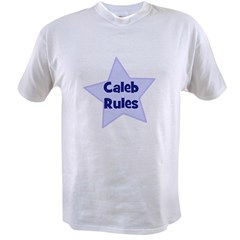 Caleb Rules Ash Grey Value T-shirt