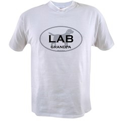 Lab GRANDPA Value T-shirt